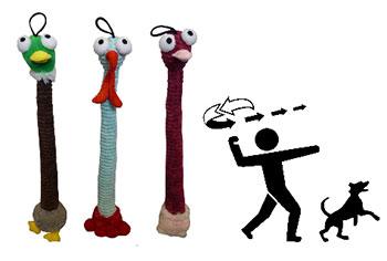 Apportierspielzeug-Voegel
